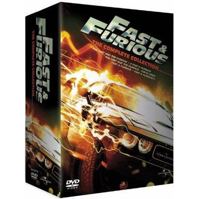 Fast & Furious 1-5 Box Set [DVD]
